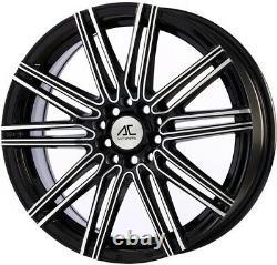 17 Noir Volts Roues Alliage Pour Renault Clio Kangoo Megane Modus Twingo 4x100