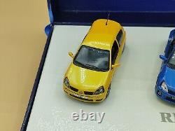 1/43 Coffret Renault Megane II RS Clio II RS Clio V6 2004 UH Universal Hobbies