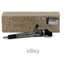 1 Injecteur Gazole d'ORIGINE Renault Megane III Scenic III 1.5 dCi 166008052R