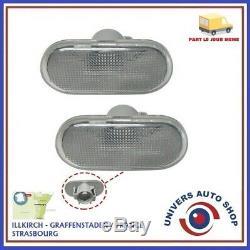 2 Clignotant Lateraux Gauche Ou Droit Renault Clio Kangoo Megane Oem 8200257684