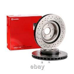 2x BREMBO Disque de frein VORNE RENAULT CLIO III BR0/1, CR0/1