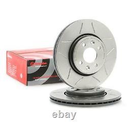 2x BREMBO Disque de frein VORNE pour RENAULT CLIO II BB0/1/2, CB0/1/2 WIND E4M