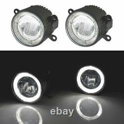 2x LED Feux Phares Antibrouillard pour Renault Clio Kangoo Laguna Megane Mât