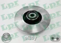 2x LPR Disque de frein RENAULT CLIO III BR0/1, CR0/1 MEGANE II BM0/1, CM0/1