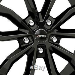 4 Jantes Autec UTECA 7.5x17 5x114,3 SW pour Renault Clio Espace Fluence Kadjar K