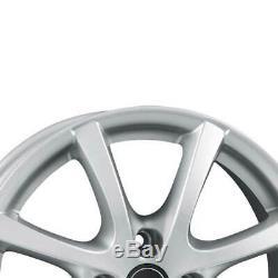 4 Jantes Borbet LV4 6.5x15 ET35 4x100 SIL pour Renault Captur Clio Espace Scénic