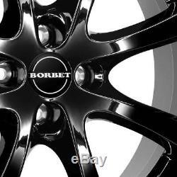 4 Jantes Borbet LV4 6.5x15 ET35 4x100 SW pour Renault Captur Clio Espace Scénic