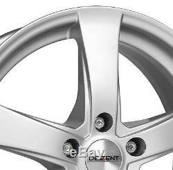 4 Jantes Dezent RE 5.5Jx14 4x100 pour RENAULT Clio Laguna Megane R19 Scenic Thal