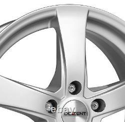 4 Jantes Dezent RE 5.5Jx14 4x100 pour Renault Clio Megane R19 Scenic Thalia Twin