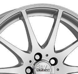 4 Jantes Dezent TI 6.0Jx15 4x100 pour RENAULT Captur Clio Grand Modus Kangoo Lag
