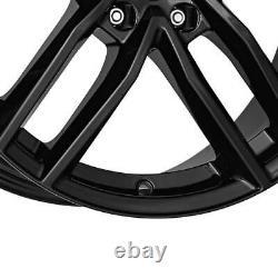 4 Jantes Dezent TR black 7.0Jx17 5x114,3 pour Renault Clio Fluence Grand Scenic