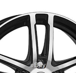4 Jantes Dezent TZ dark 6.5Jx16 4x100 pour RENAULT Captur Clio Grand Modus Grand