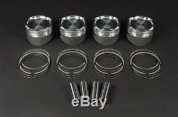 4 Pistons +0.50mm RENAULT CLIO MEGANE SCENIC KANGOO 1.5 DCI K9K 732-64-80-806-4