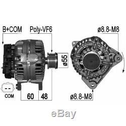 ALTERNATEUR COMPATIBLE AVEC RENAULT CLIO III 1.5 dCi 55KW 75CV 08/2010 EB1057S