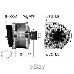 ALTERNATEUR COMPATIBLE AVEC RENAULT MEGANE II Stufenheck 1.6 16V 82KW 112CV EB57