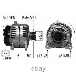 Alternateur Compatible Avec Renault Megane II 1.4 16v (bm0b, Cm0b) 72kw 98cv Eb8