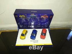 COFFRET RENAULT SPORT RENAULT CLIO RS + V6 PHASE 2 + MEGANE RS Universal Hobbie