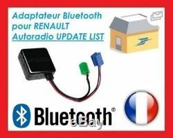 Cable Bluetooth AUX MP3 Renault Clio 3 Clio 2 Megane 2 Laguna Scenic 2 Modus GZ