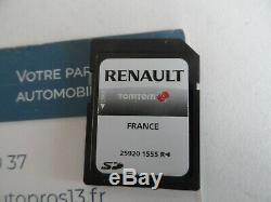 Cart Sd Origine Gps Navigation Tomtom Renault Clio 3 Megane Laguna Scenic Trafic