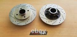 Clio Williams 2 disques arrière rainurés/percés en 238/8 mm