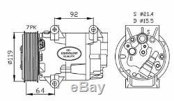Compresseur climatisation Renault Megane 2 Scenic 2 1.9 DCI et 2.0 Clio 3 RS