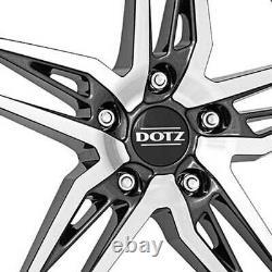 Jantes Dotz Interlagos dark 7.5Jx18 ET50 5x114,3 pour Renault Clio Fluence Latit