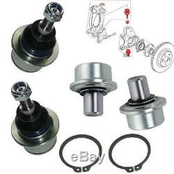 Kit 4 Rotules, pivots de suspension Renault Clio 3 RS Megane 2 RS