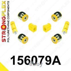 Kit suspension avant silentblocs polyuréthane pour Renault 19, Clio II