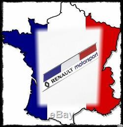 Logo emblème renault rs sport, coffre ailes intérieur, clio rs, megane rs, neuf