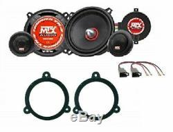 MTX TX450S Set Haut Parleur Renault Clio 13 Megane 3 09 Conn / Brkt Voiture