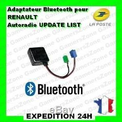 Module Bluetooth autoradio RENAULT MEGANE 2 CLIO 2 3 KANGOO ESPACE SCENIC 2