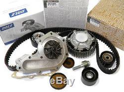 Poulie Dephaseur & Kit Distribution & Pompe A Eau Renault 2.0 16v 2003