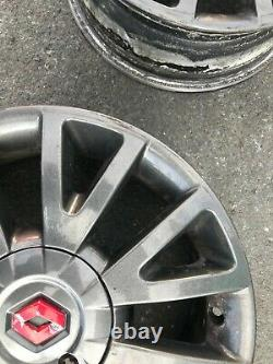 RENAULT Clio MK3 16 Canasta Rechange Alliage Jante 8200666351 6.5Jx16 Vrai #4