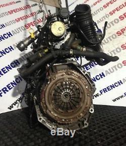 RENAULT MEGANE SCENIC CLIO II MK2 1.5 DCI K9K 724 dCi 86 BHP MOTEUR COMPLET 05