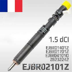 Renault Dacia 1.5dci injecteur EJBR02101Z 28232242 EJBR01701Z EJBR04101D EJBR014