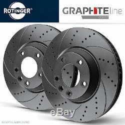 Rotinger Graphite Ligne Disques de Frein de Sport avant Renault Megane II