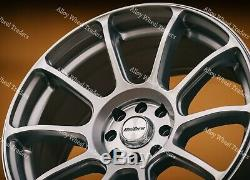 Roues Alliage 17 Neo pour Renault Clio Kangoo Megane Modus Twingo 4x100 Sl