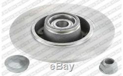 SNR Disque de frein x2 Arrière 260mm Pour RENAULT SCENIC MEGANE CLIO KF155.110U