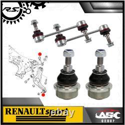 Sus. Control Rotule Bras+ Biellette Set L. / R Pour Renault Clio, Megane Rs