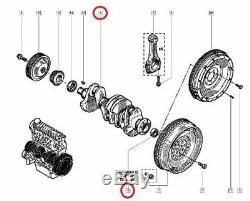 Vilebrequin & Coussinets & Bagues Renault Clio II / Megane II 2.0 16v Sport