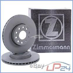 Zimmermann Disques De Frein+plaquettes Avant Renault Clio 1 1.8 Williams 91-98